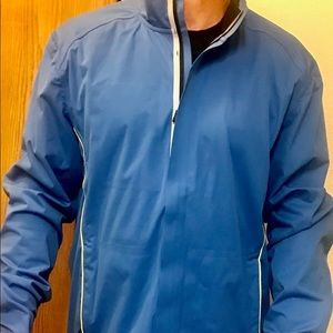 Blue golf jacket